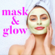mask and glow